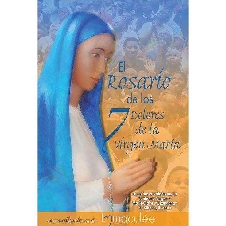 In Spanish El Rosario de los 7 Dolores (Seven Sorrows Rosary) Booklet with Immaculee