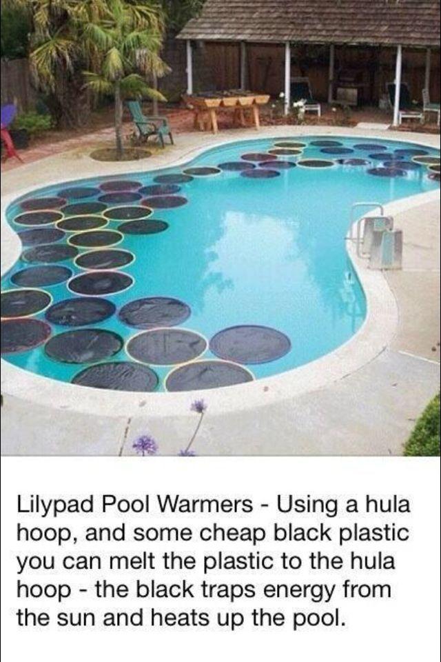 16 Backyard DIY Hacks | Pool warmer, Diy pool, In ground pools