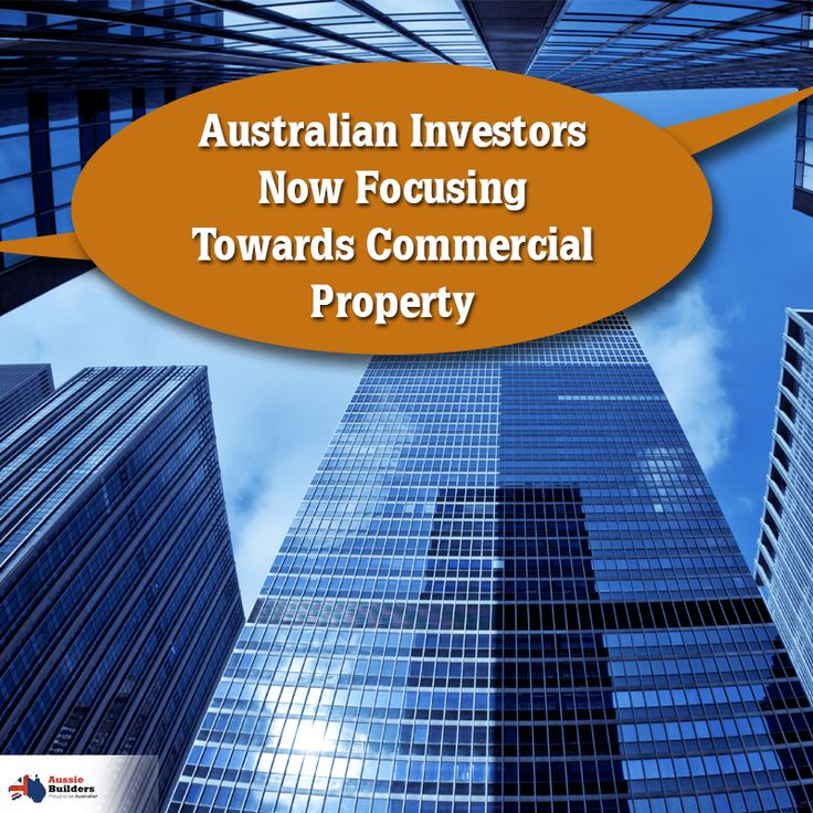 Australian investors now focusing towards commercial property... Read the complete news from here...