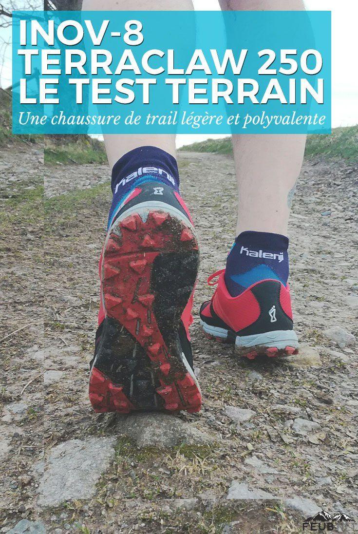 Test des chaussures de trail Inov-8 TerraClaw 250