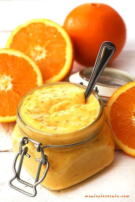 maniapieczenia: Orange curd - krem pomarańczowy