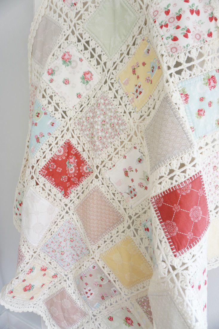 High Tea crochet quilt tutorial 216