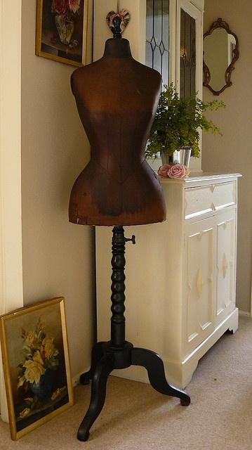 vintage German mannequin