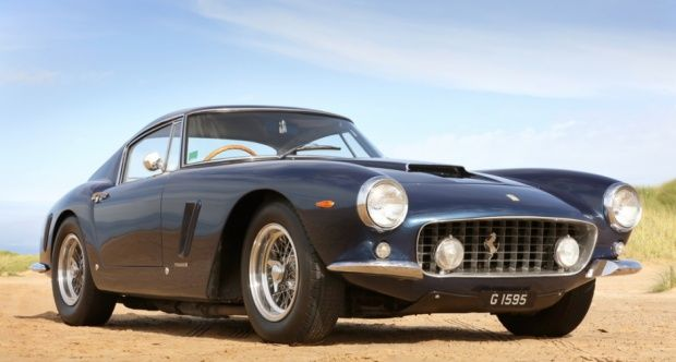1962 Ferrari 250 GT  - Classic 250 GT SWB - The 250 SWB is one of the most iconic Ferrari's of all time that is instantly recognisable. The reason its called a Short Wheelbase (SWB) is due to the 200mm that was cut from the previous TDF and earlier models and they came with a 3 litre V12 engine that was capable of 280bhp.