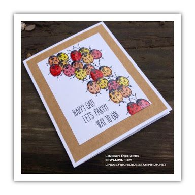 love you lots stampin up - Google Search