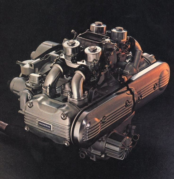 Honda Motorcycle With Fit Engine: HONDA GOLDWING. Classic Motorcycles Art&Design @classic