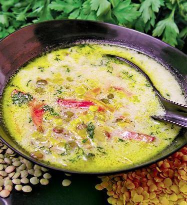 Ciorbă de linte cu smântână | Retete culinare - Romanesti si din Bucataria internationala