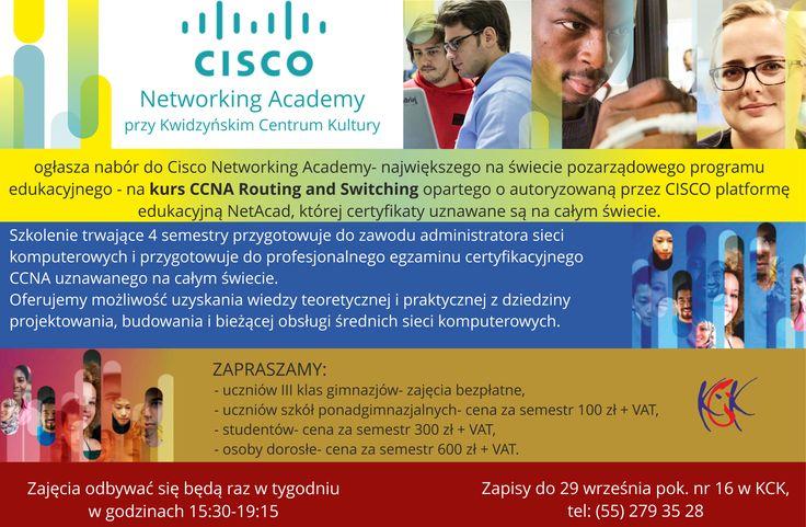 Cisco Networking Academy, zapisy do 29 wrzesnia 2017 r.
