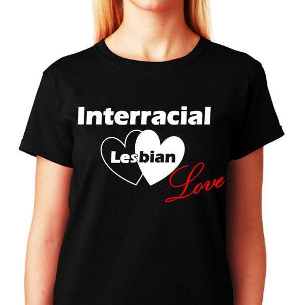 Lesbian Shirt Interracial Lesbian Love Lgbt Shirt Christmas Gift Black...  ($20). Gay ShirtsShirts & TopsChristmas T ...