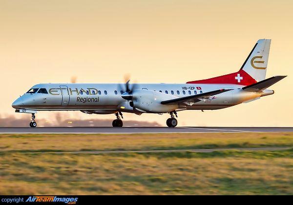 Etihad Regional/Darwin Airlines (Switzerland) SAAB 2000
