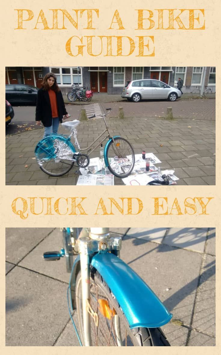 How To Paint A Bike Without Taking It Apart Bicycle Painting
