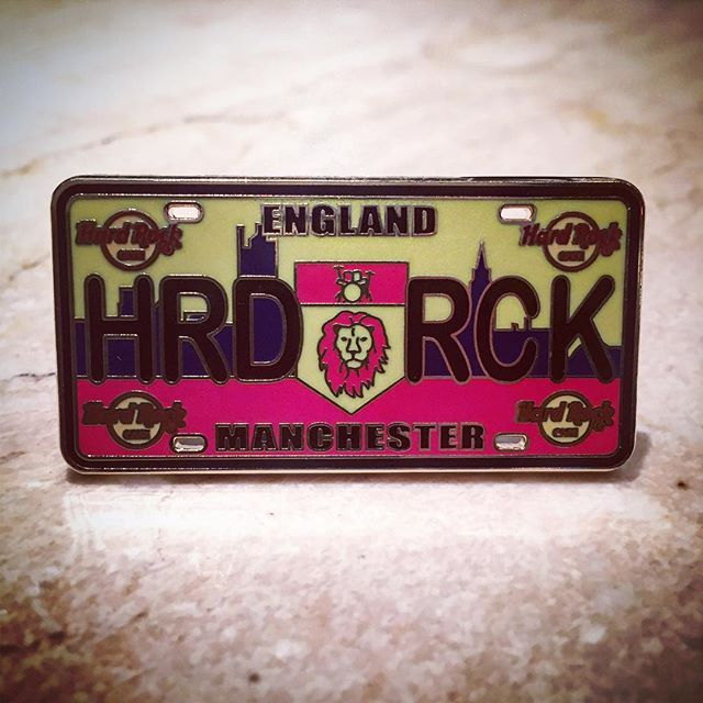 NEW PIN ALERT: this limited edition pin - part of the license plate series - is now available from our Rock Shop for £8.95.   Pick up yours today to add to your collection!  #ShowUsYourPin