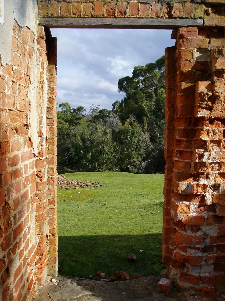 Coal Mines Historic Site,Tasman Peninsula, Tasmania, Australia.