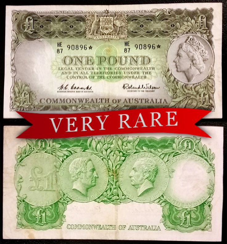 This VERY RARE one pound star note dates back to 1960 and is going under the hammer Thursday at 7:00 pm in our UNRESERVED Banknotes and Coins Auction -