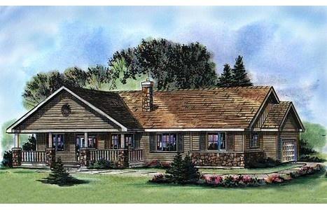 Rustic ranch house plans pinterest