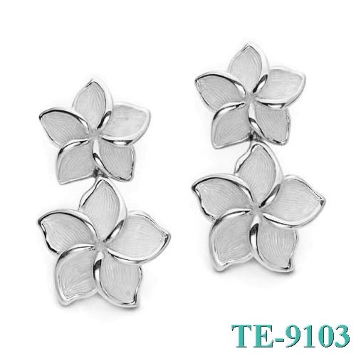 Tiffany and co Earrings Delicate Flower Transparent jewelry This Tiffany Jewelry Product Features: Category:Tiffany & Co Earrings Material: Sterling Silver Manufacturer: Tiffany And CoIt is not simple to select an appropriate jewelry for oneself among dazzling ornaments on the market, which has a lot of learning.Tiffany & Co Jewelry will be women best choice.