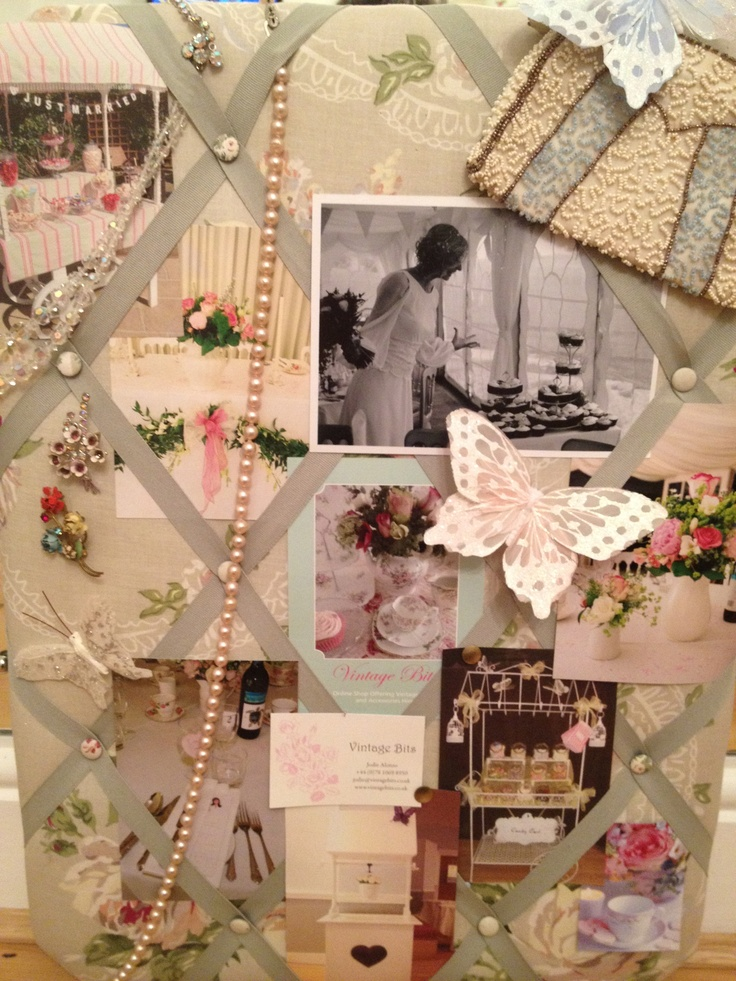 My wedding Mood board for this Sundays Wedding open day at The Bull Hotel where I am exhibiting all of my Vintage China available for hire