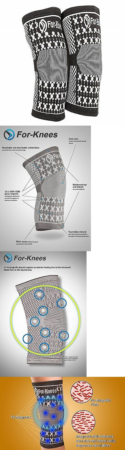 Orthotics Braces and Sleeves: For-Knees: Magnetic Compression Knee Brace Sleeve For Support In Sports Hikin... BUY IT NOW ONLY: $34.92