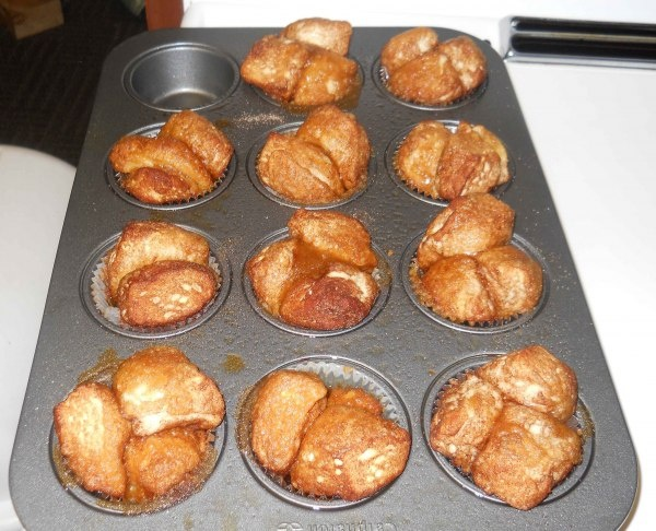 Monkey bread muffins | Food Breads/Rolls | Pinterest