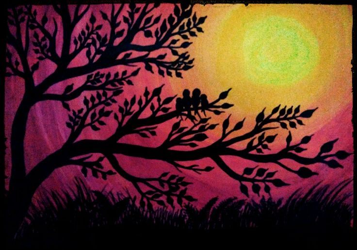 Painted by Nilufar...  inspired from somewhere...
