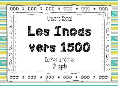 Les idées de Mme Roxane!: Les Incas