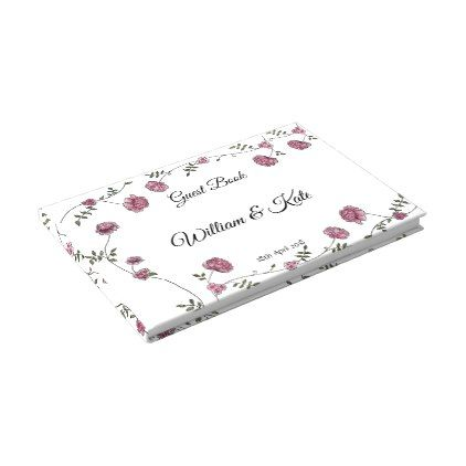 Dhalia Personalised Wedding Guest Book - wedding party gifts equipment accessories ideas