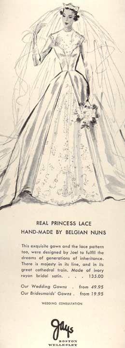 1951 Jays Bridal advertisement
