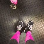 Salilla viihdyn huolestuttavan paljon pinkissä värissä #zeropoint #zpcompression