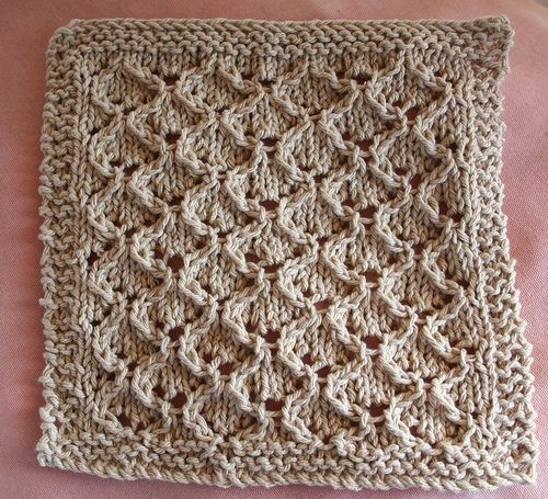 Knitted Dishcloth Patterns Wedding : 2153 best images about Knitting on Pinterest Free pattern, Knit patterns an...