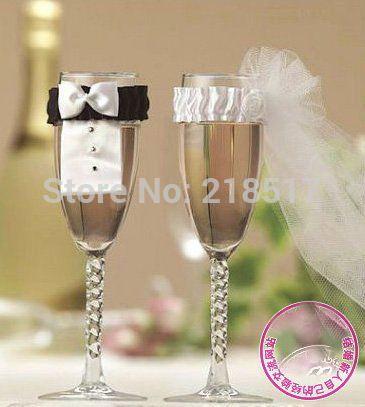 Goedkope Bruid & bruidegom glazen decoratie wijn fluit glazen covers bruiloft decoratie feestartikelen buitenechtelijke mok woondecoratie, koop Kwaliteit Event& party benodigdheden rechtstreeks van Leveranciers van China: Bruid en bruidegom bruiloft glas, wijn, fluit glas covers decoratie bruiloft decoratie partij decoratie levert wedlock f