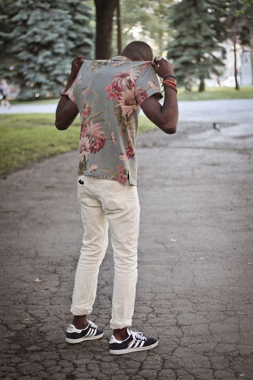 printsSummer Shirts, Fashion Men, Men Fashion Floral, But But, Men Style, Men'S Fashion, Flower Power, Floral Shirts Men, Man Style