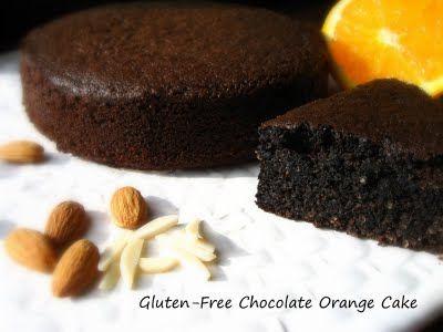 Home Cooking In Montana: Gluten-Free Chocolate Orange Cake...Nigella Lawson Adaptation