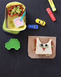 Yummy, cute and appealing lunch recipe for those little lunch boxes