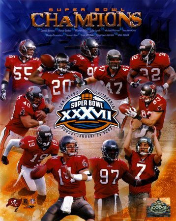 I actually have a copy of this poster, from when the Tampa Bay Buccaneers won their first (and so far, only) Super Bowl.
