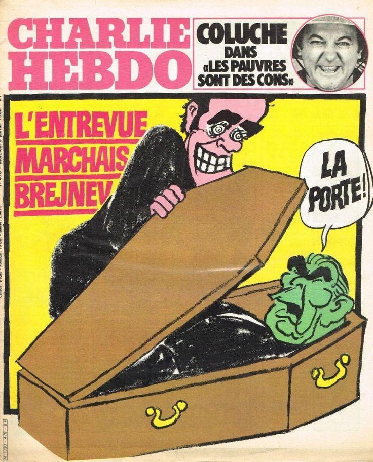 Charlie Hebdo - # 478 - 9 Janvier 1980 - Couverture : Cabu