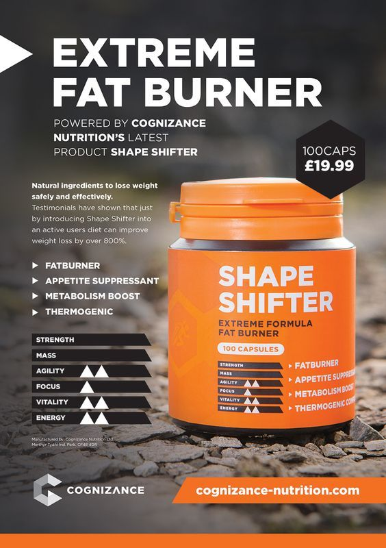 Shape Shifter by Cognizance Nutrition is the newest and hottest weight loss supplement to hit the market. It was already huge in the UK and now it is available here in the US. Supplement Police, the Brutally Honest supplement review site gave it an amazing review. Get your FREE TRIAL now!