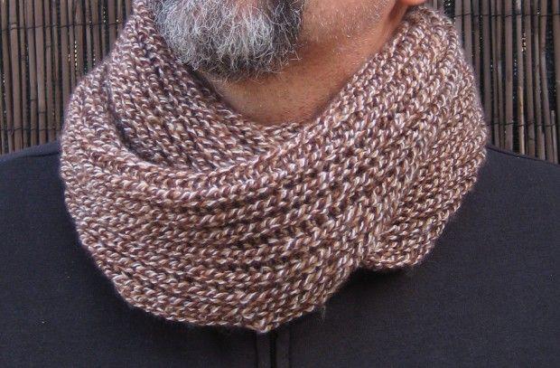 Cómo tejer una bufanda cuello para chico