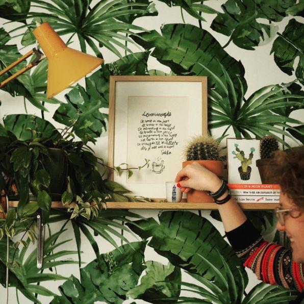 Designed for Living behang door Rood&Bloem Stylist - BN Wallcoverings