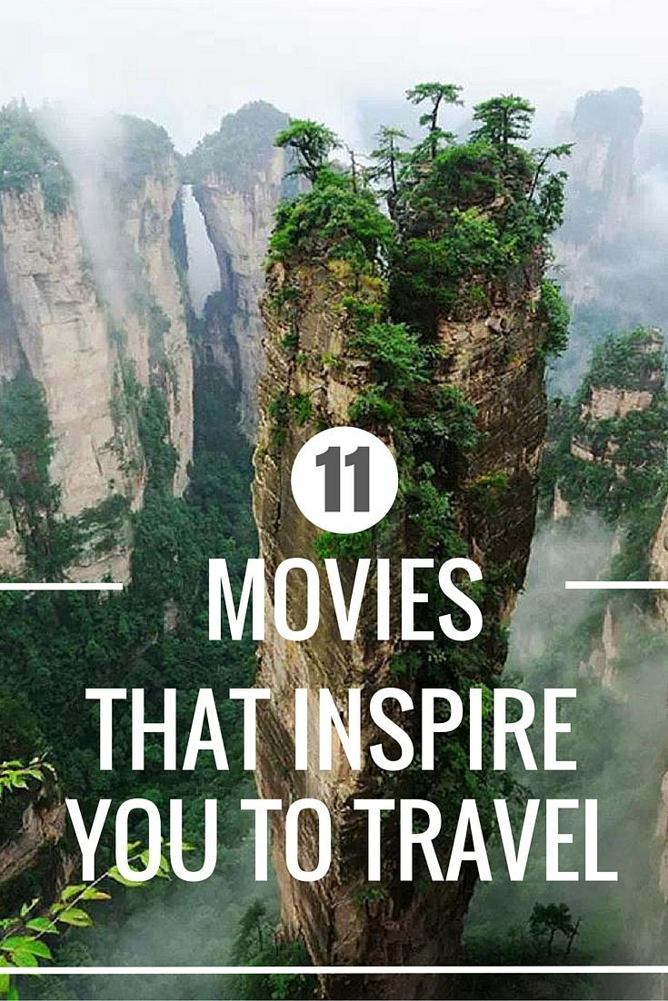 Travel Movies list that will inspire you to travel.