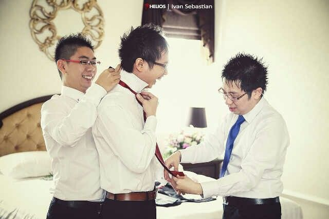 Groom preparation