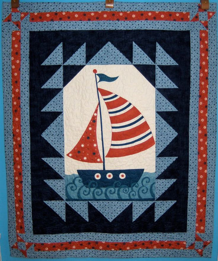 sailboat quilt - Google Search