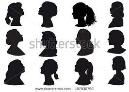Afbeeldingsresultaat voor woman head silhouette png