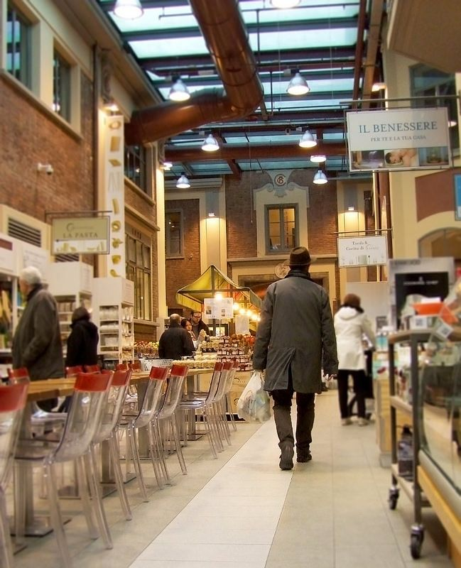 Eataly supermarket, Torino Lingotto. This one was the very first Eataly in the world.