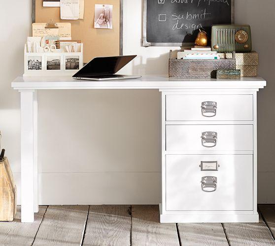 Pottery Barn Bedford Small Desk Set 52 Quot Wide X 23 Quot Deep