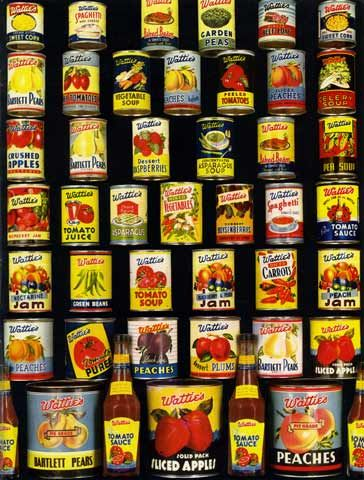 Wattie's is an iconic Hawke's Bay company. Founded in Hastings in 1934, the food-processing company went on to become one of the region's most successful and enduring businesses. Wattie's has manufactured a diverse range of products but is best known for its canned fruit and vegetables, and a staple New Zealand condiment – tomato sauce. Photo courtesy of Heinz Wattie's