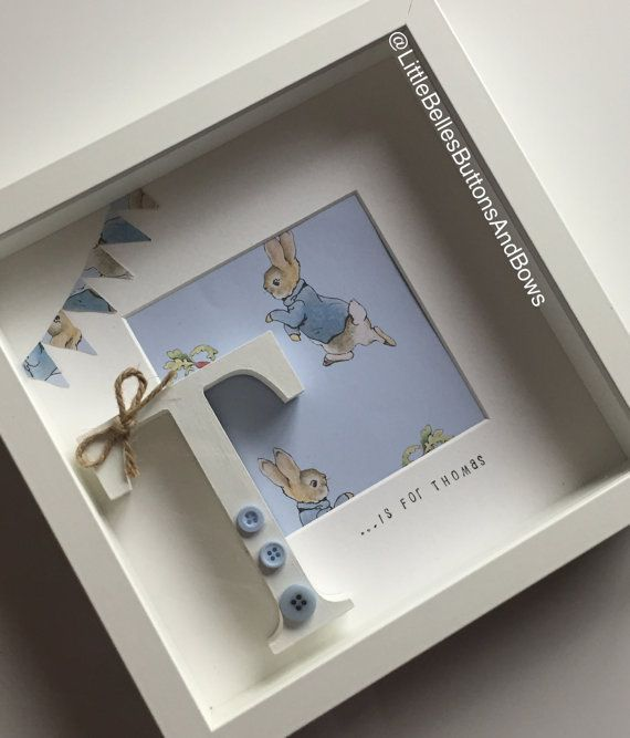 Peter rabbit personalised frame