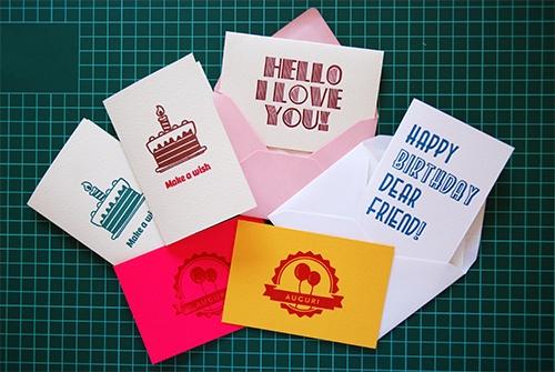 New letterpressed cards!