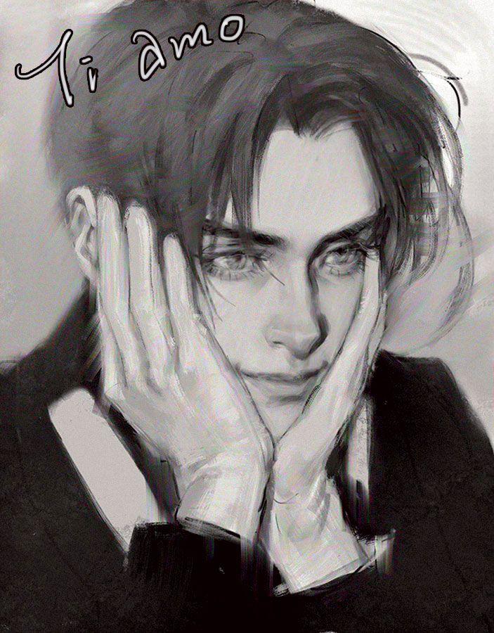Feliciano - Art by jrjane.tumblr.com.   It's so good, I wish I could draw like that.