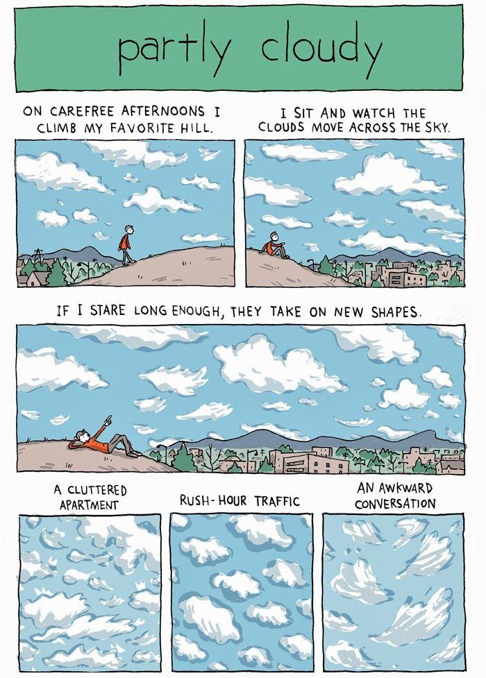INCIDENTAL COMICS: Partly Cloudy