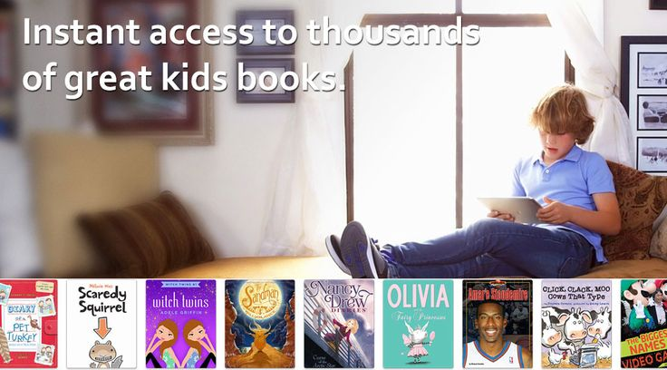 just signed up for a free educator account... looks like there are tons of books to read, as well as some audio books, which my kinders always love listening to!!